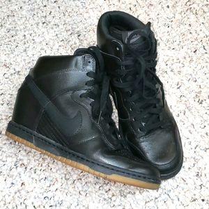 Nike dunk sky high black size 9.5